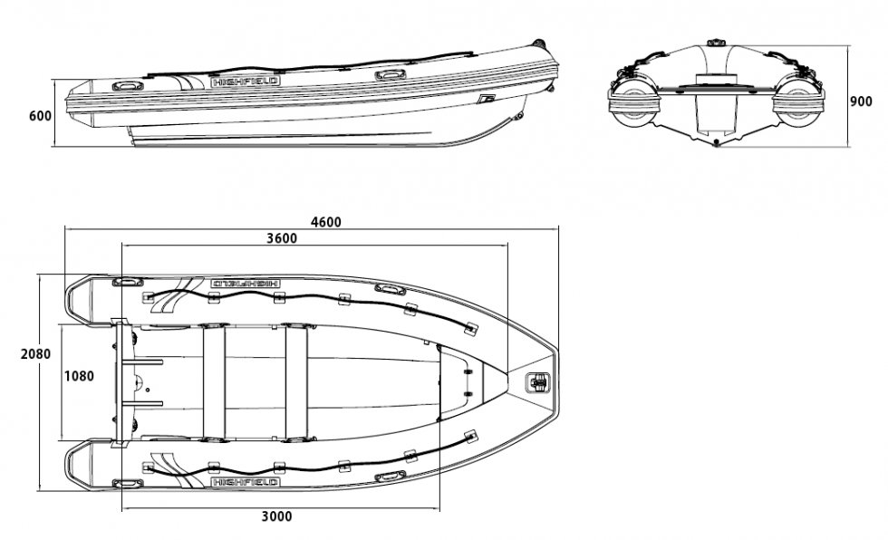 Как измерить размер лодки