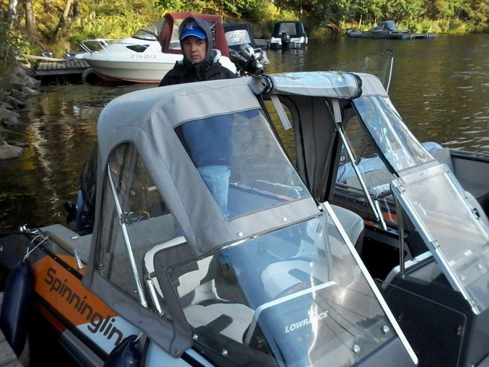 лодка спиннинглайн фишинг