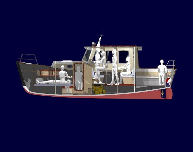 проекты малых лодок