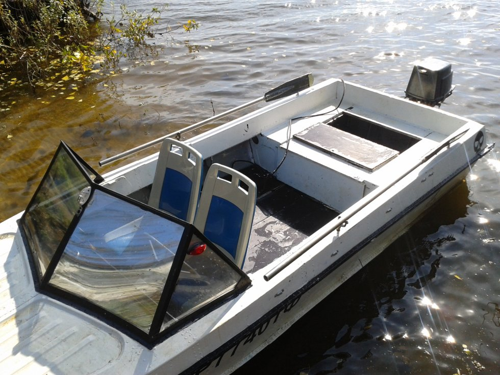 куплю лодку крым казанка