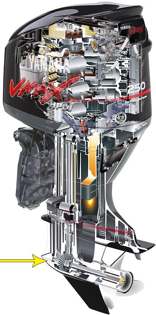лодочные моторы джонсон 250