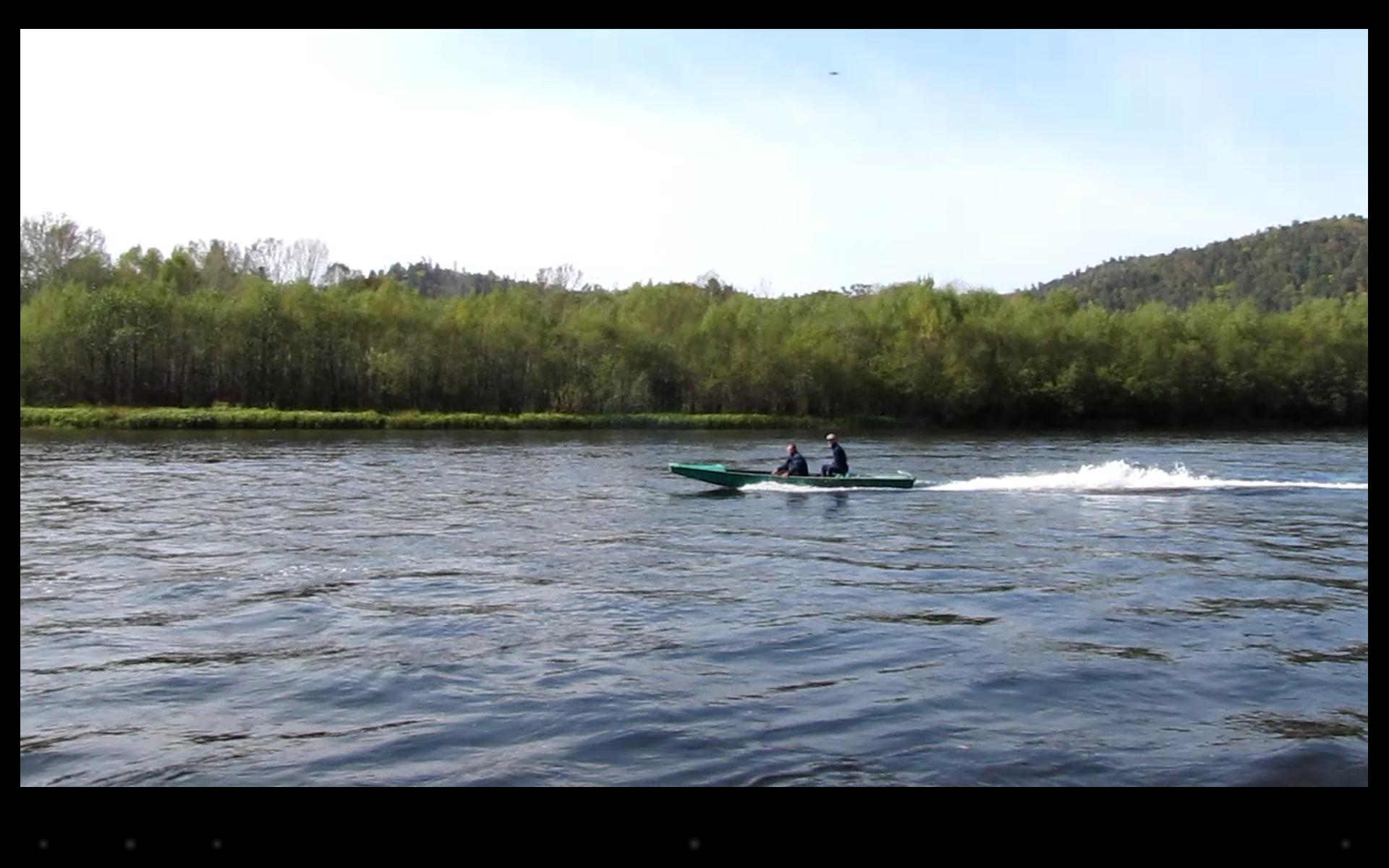 постройка лодки для быстрых рек