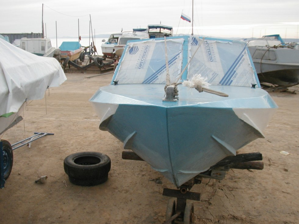 переделываем лодку мкм