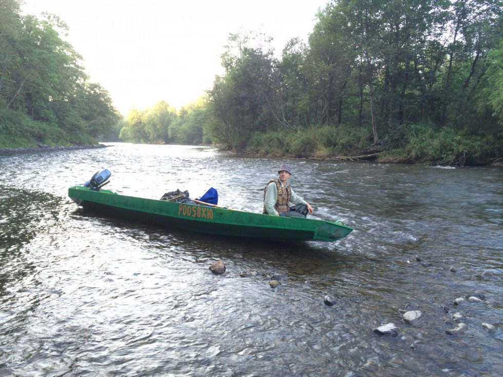 лодка для горных рек водомет