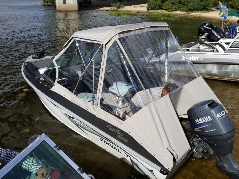 установка fisherman 600 на лодку