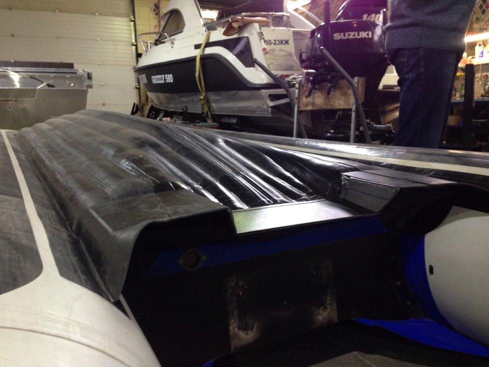 лодка солар 420 jet тоннель и водомет видео