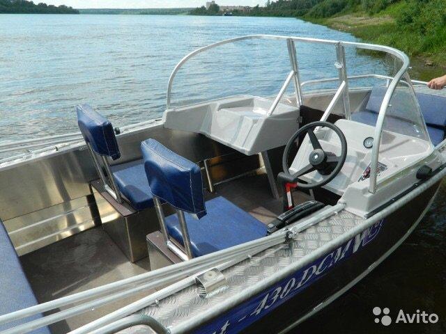 видео лодки вельбот 430 дсм