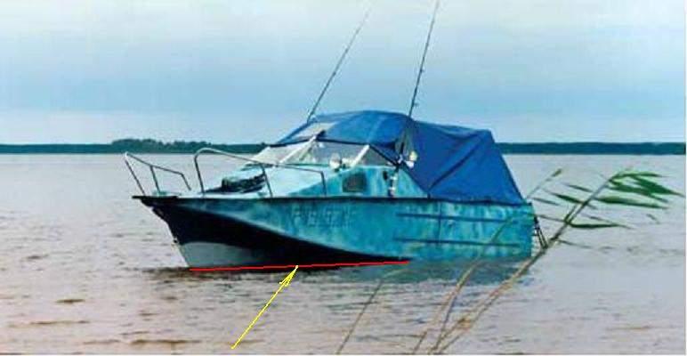 груз для лодки казанка