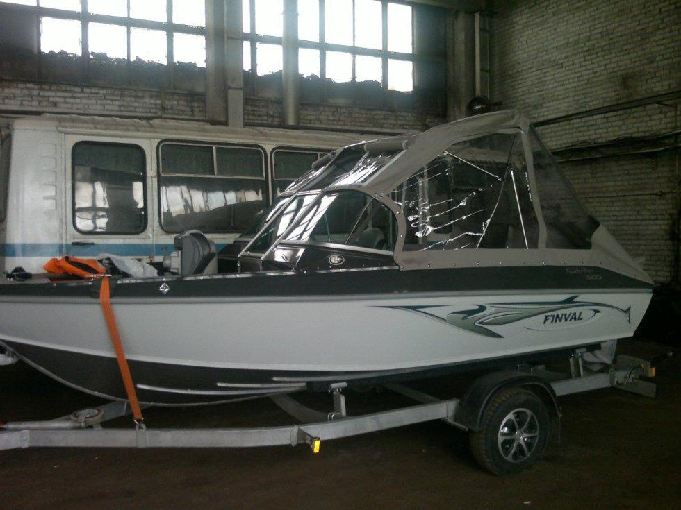 Катер для рыбалки финвал