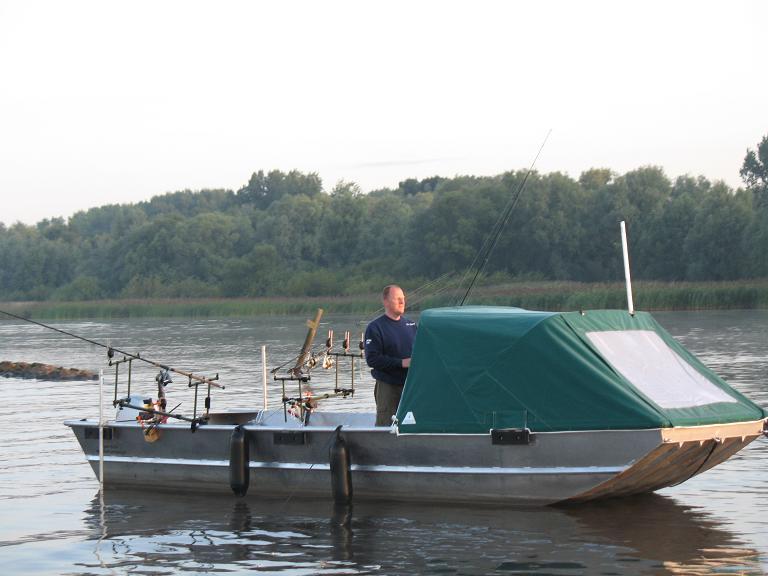 клепаем лодку
