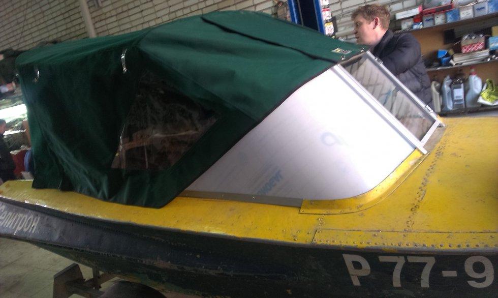 тент на лодку обь зич