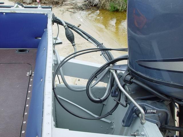 трос газа для лодки казанка