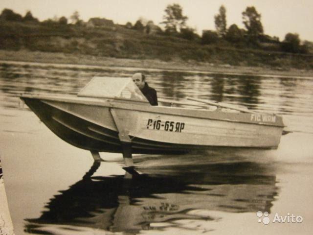 лодка с подводными крыльями