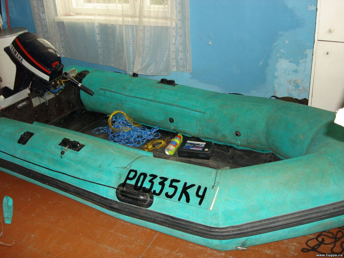лодка резиновая с трансом с фото
