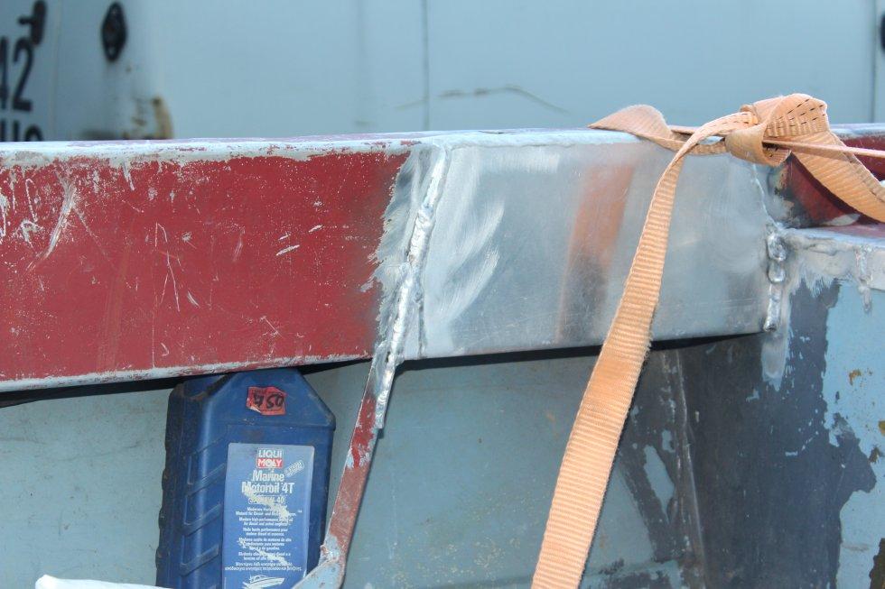 ремонт алюминиевой лодки крым
