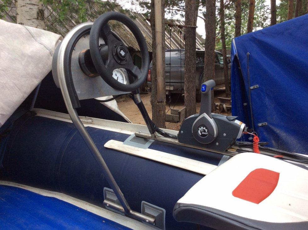рулевая консоль на резиновую лодку