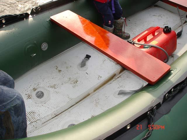 водометный двигатель для резиновой лодки