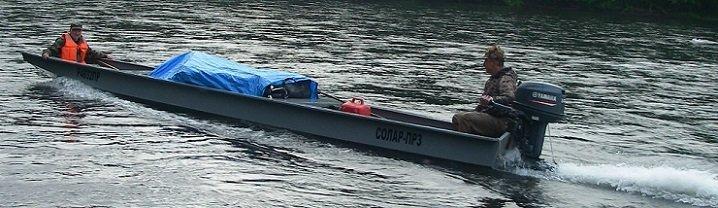 скорость водоизмещающей лодки