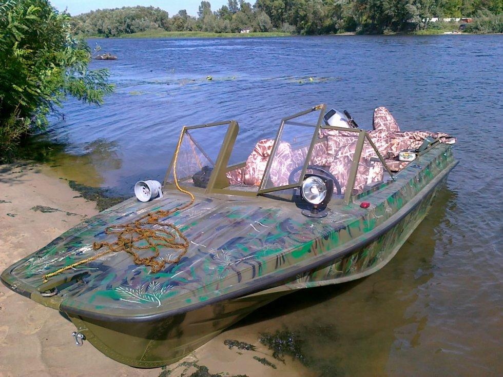 тюнинг для моторных лодок казанка