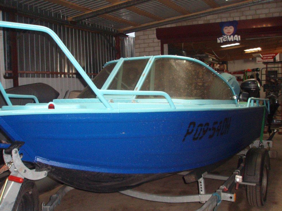 Краска для окраски алюминиевых лодок