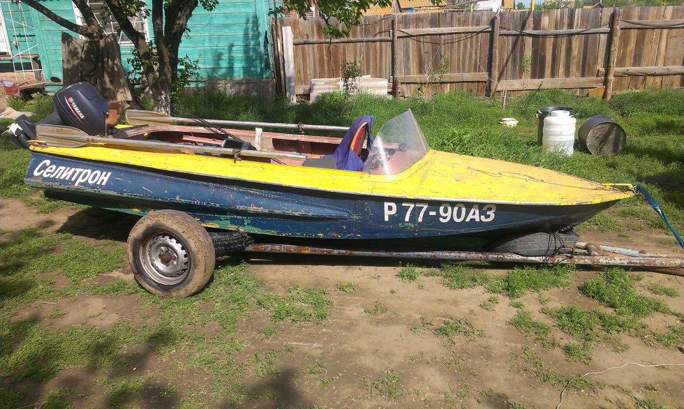 купить лодку обь