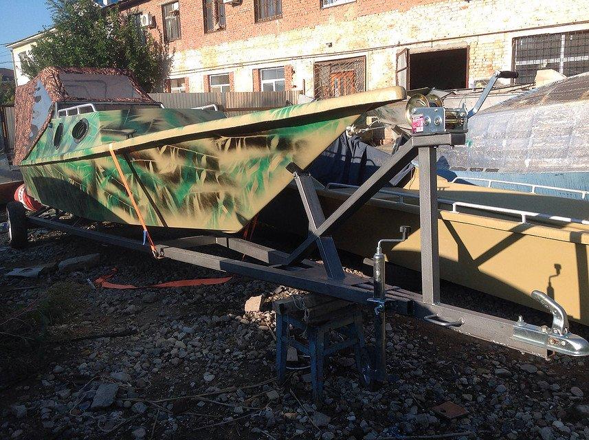 ремонт лодочных прицепов во  москве