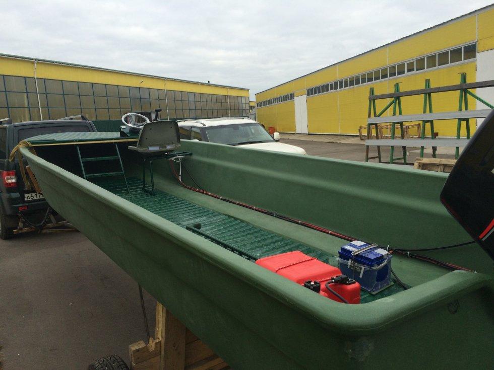 лодки с транков