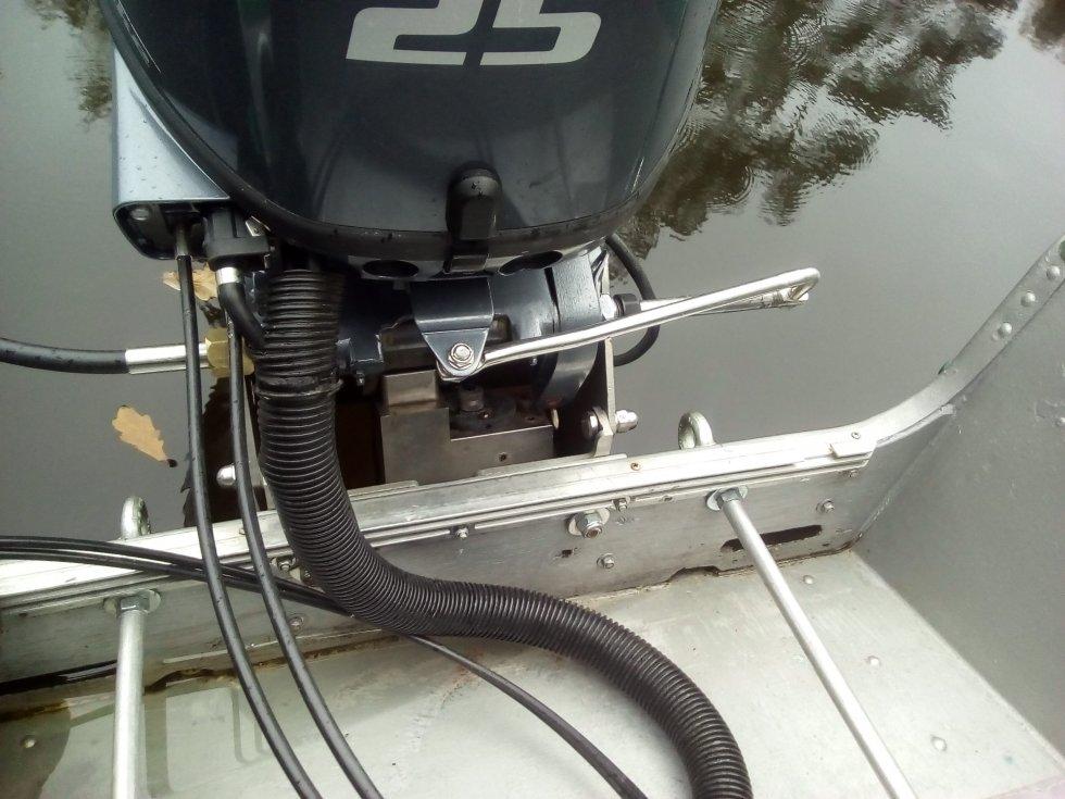 самодельное дистанционное управление лодочным мотором ямаха