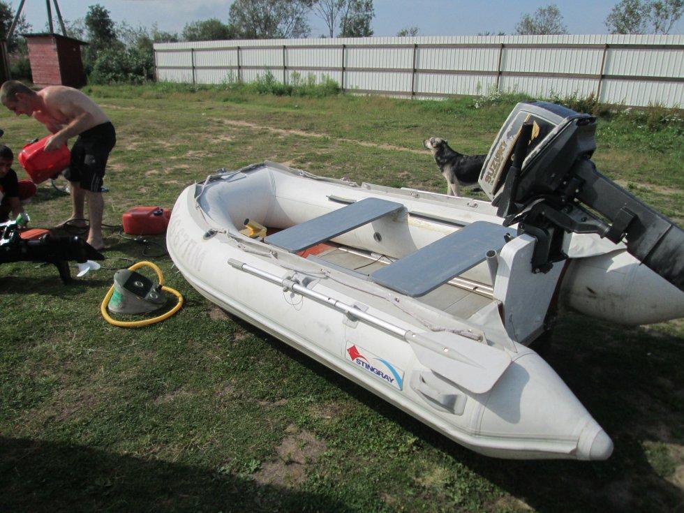 лодка 330 аирдек