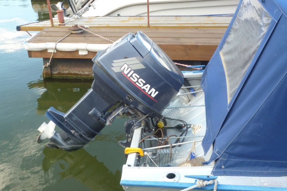 история лодочных моторов ниссан марин