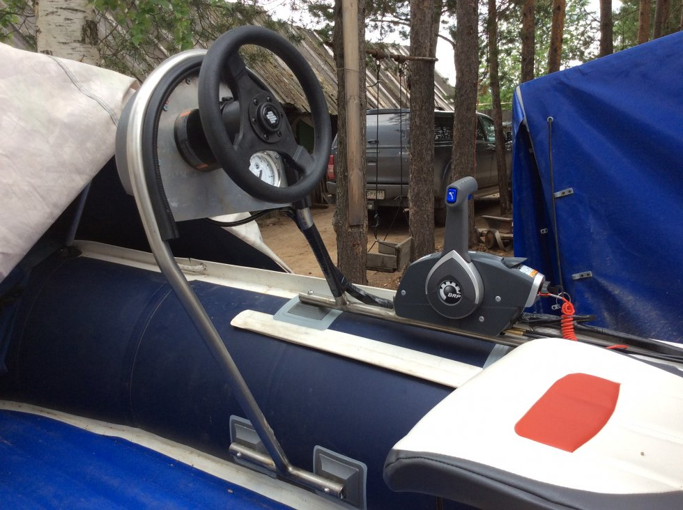 Рулевые консоли для лодок своими руками 499