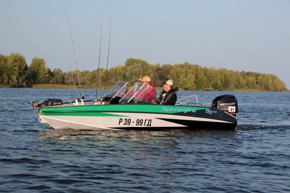 spinningline алюминиевые лодки