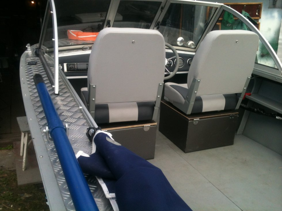 ремонт сидений на надувных лодках