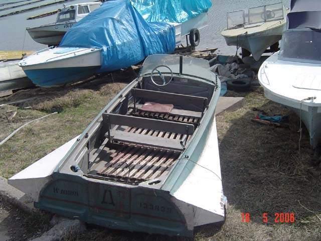 видео как сделать лодку казанку