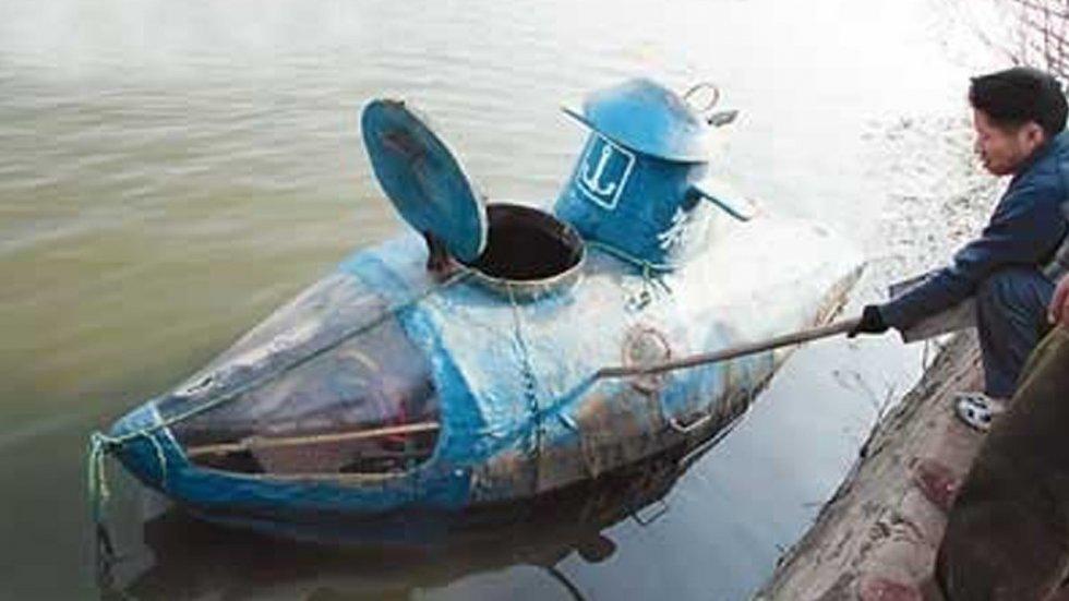 Подводная лодка самодельный