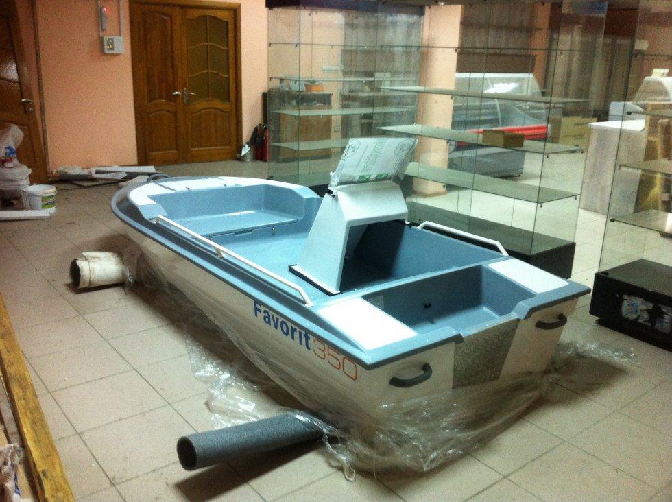 лодка пвх фаворит видео