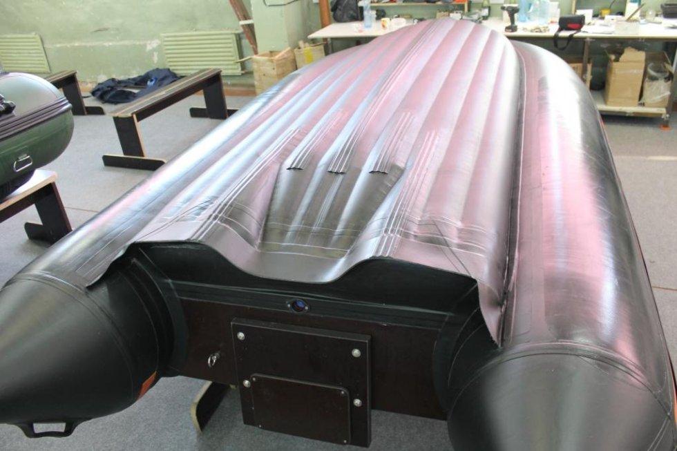 размеры туннеля для лодки