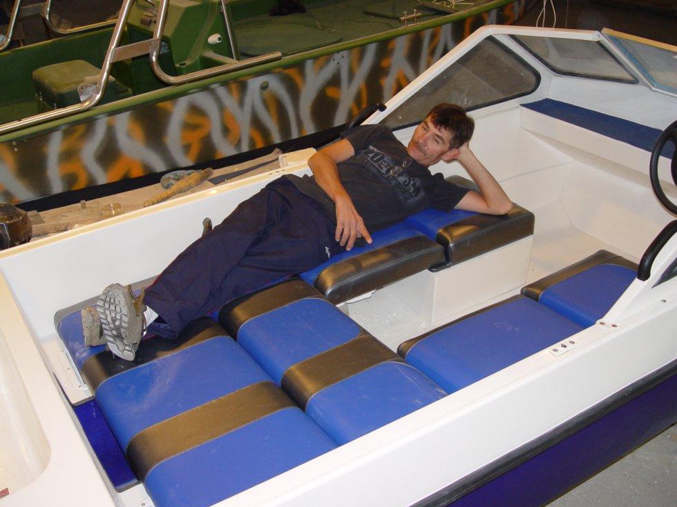 диван для лодки своими руками