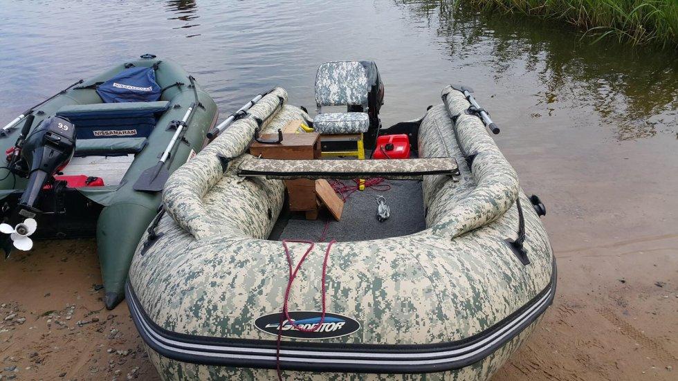видео лодок гладиатор с фальшбортом