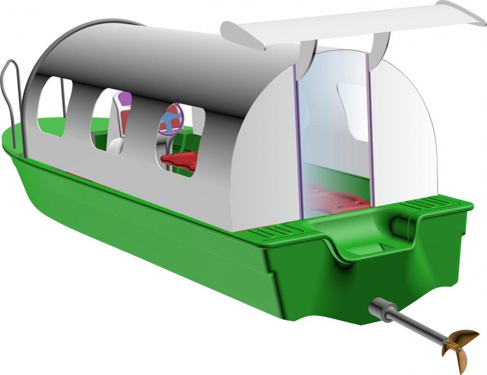 лодка из полиэтилена сделай сам