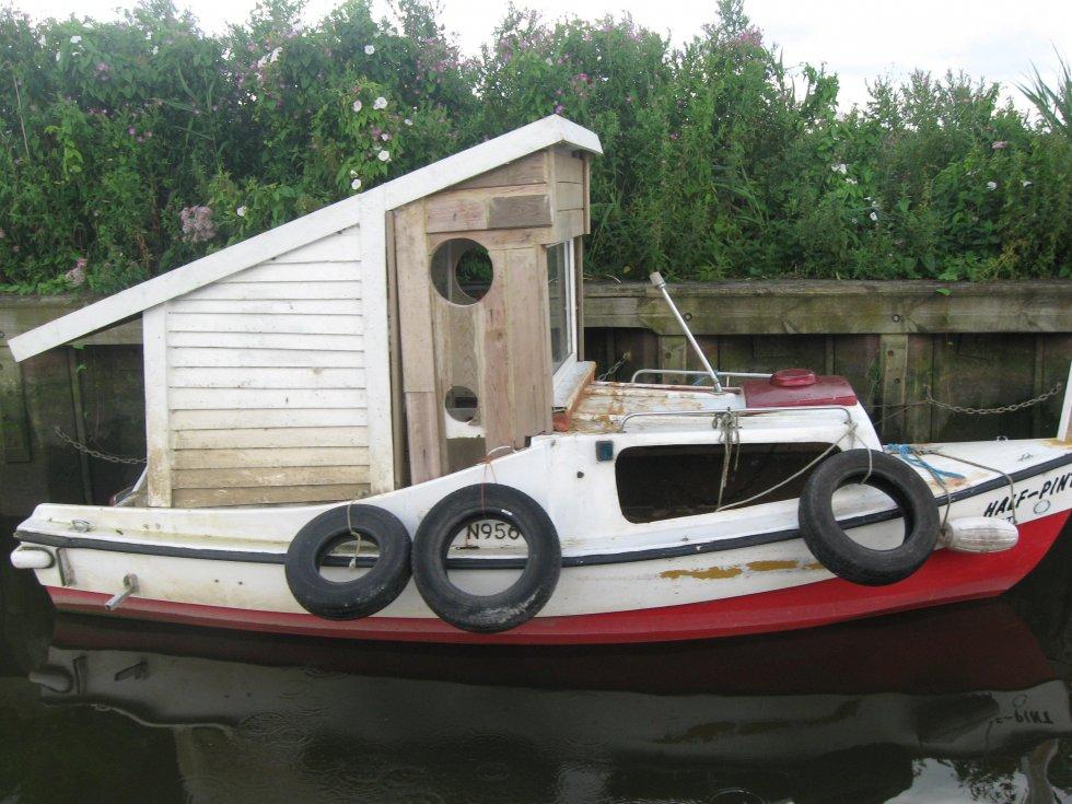 Прогулочные лодки самодельные