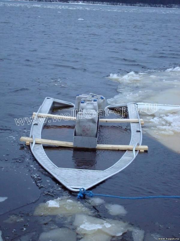 блоки плавучести на лодках волжанка