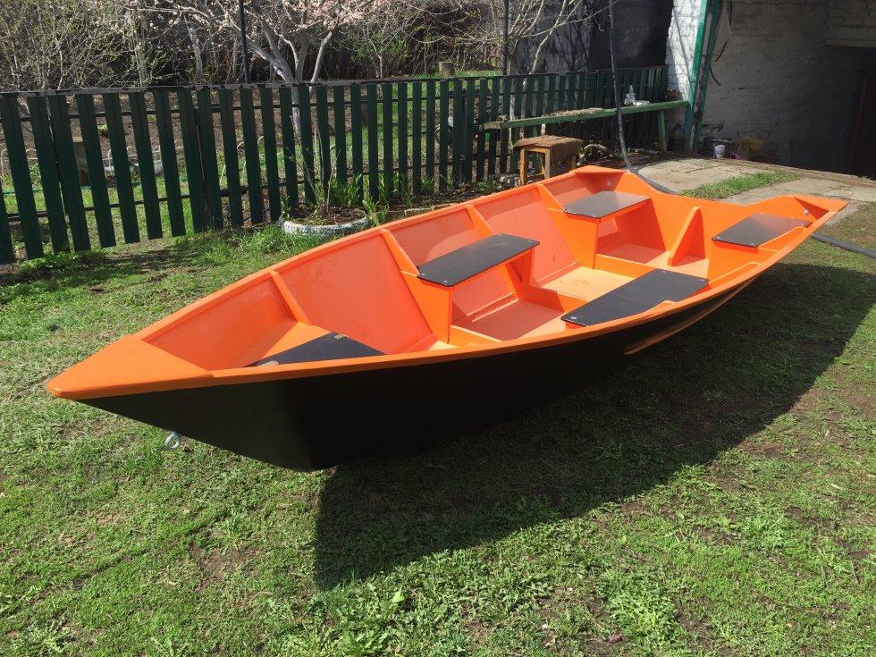 лодка из фанеры и смолы