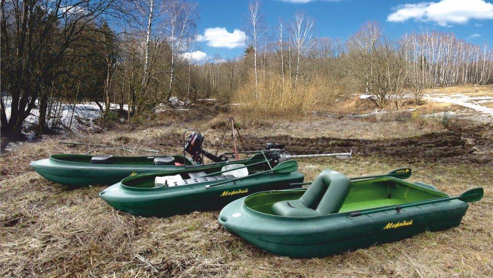 лодка для охоты полиэтилен
