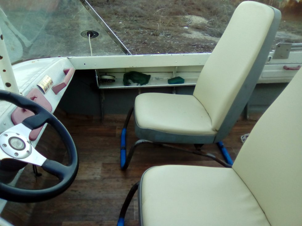 Сиденья для лодок и катеров своими руками 45