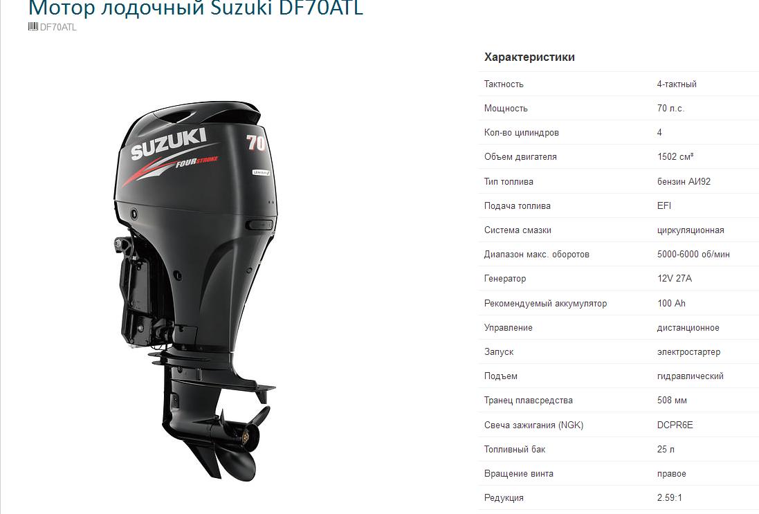 Лодочные моторы 5 л.с 4 тактные цены сузуки в москве