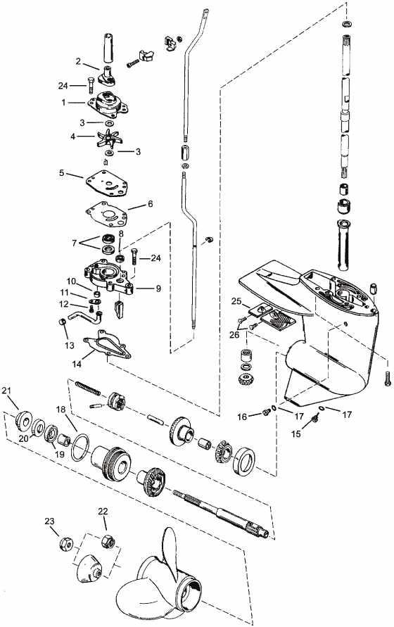 как снять редуктора лодочного мотора ямаха