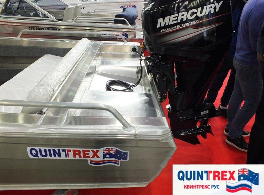 купить лодку quintrex 455