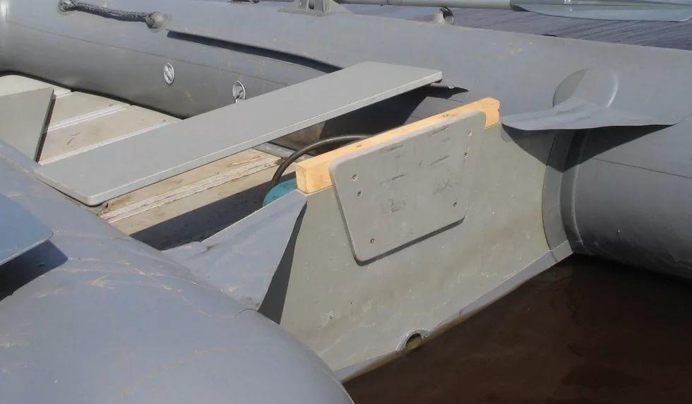 Переделка пвх лодки своими руками 14