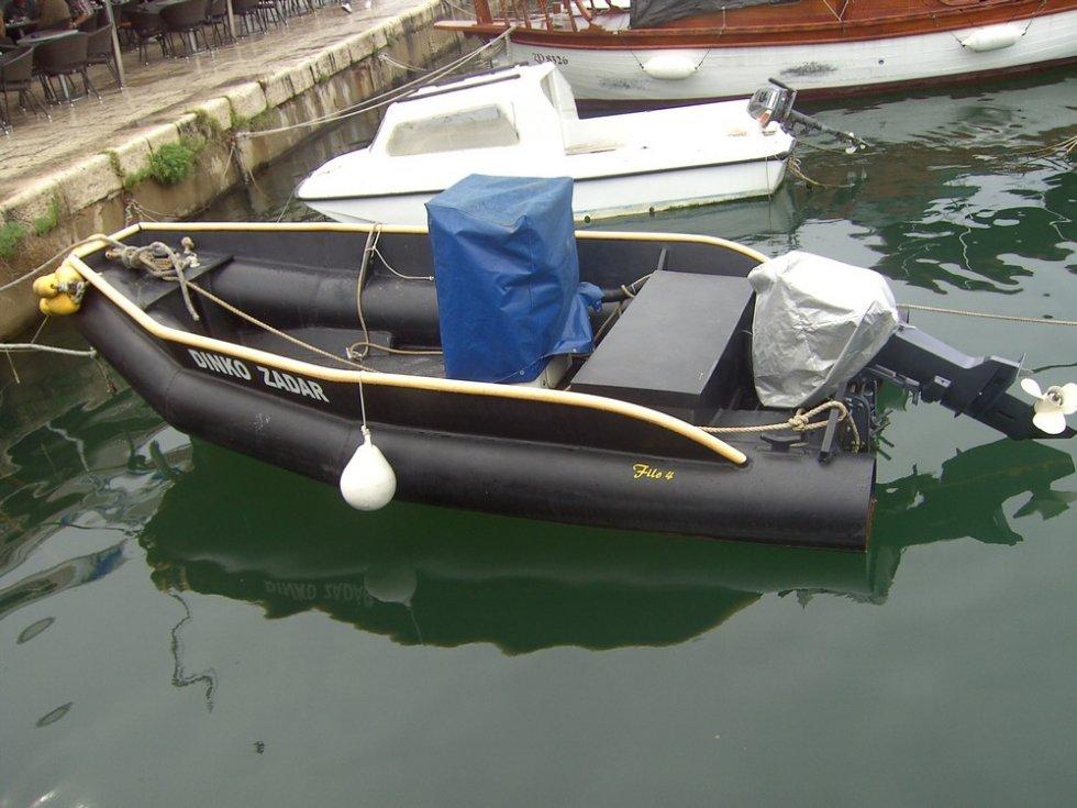 Полиэтиленовых прессованных лодок